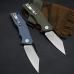 PETRIFIED FISH PF929 FOLDING FLIPPER KNIFE | HEAVY DUTY | CERAMIC BALL BEARINGS | G10 | D2