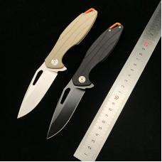 FOLDING FLIPPER KNIFE | BALL BEARING | G10 | D2 | ONE-HAND-OPEN