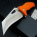 FOLDING FLIPPER KNIFE |'HAWK BILL' CLIP POINT | SS BALL BEARINGS | G10