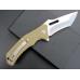 FOLDING FLIPPER KNIFE   STAINLESS STEEL BALL BEARINGS   G10   D2