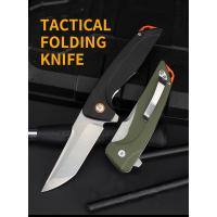 TACTICAL FOLDING FLIPPER KNIFE | G10 | D2 | ONE-HAND-OPEN